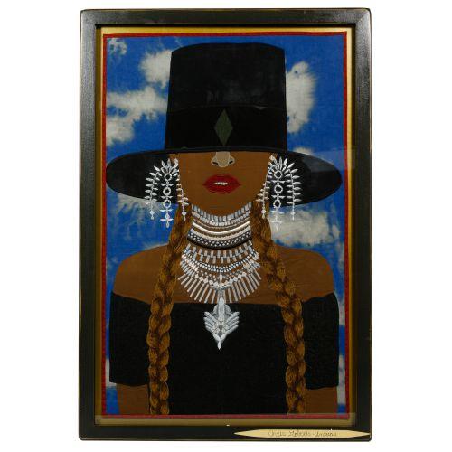 """Chris Roberts-Antieau (American, b.1950) """"Beyonce"""" Tapestry"""
