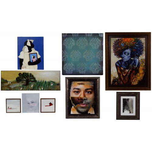 "Cassandra Gillens (American, b.1962) ""Memories"" Acrylic on Canvas"