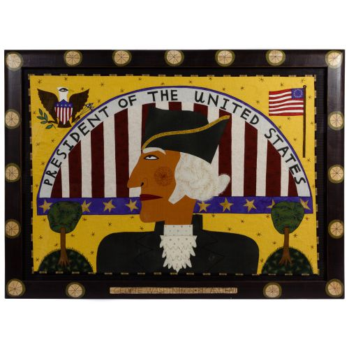 "Chris Roberts-Antieau (American, b.1950) ""George Washington"" Tapestry"