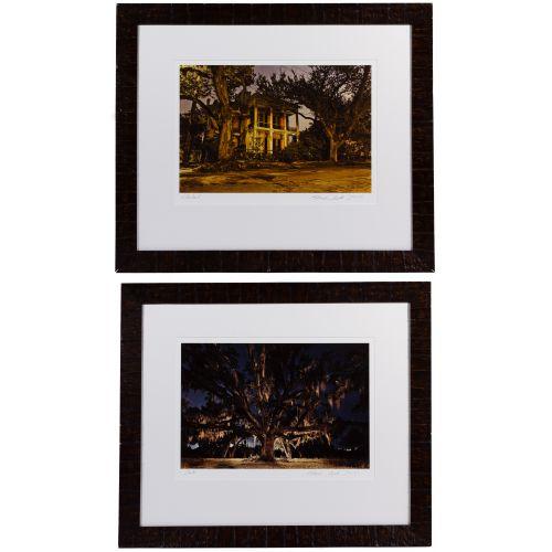 "Frank Relle (American, b.1976) ""Chestnut"" and ""Oak"" Photographs"