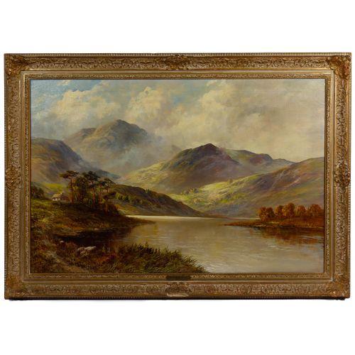 Campbell Scott (British, 1930-2013) Oil on Canvas
