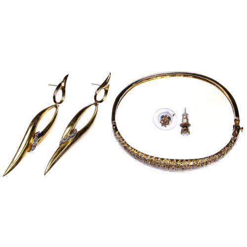 14k Yellow Gold and Diamond Jewelry Assortment