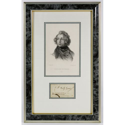 Charles Dickens Autograph