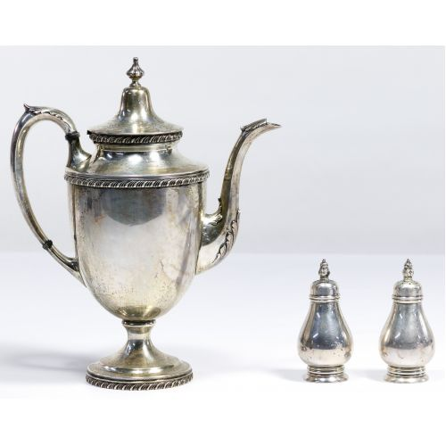 Sterling Silver Hollowware Assortment