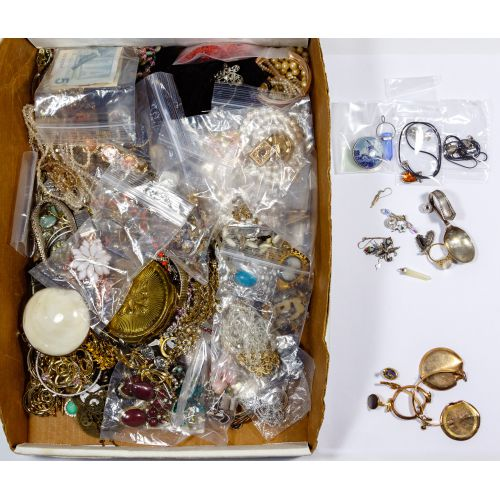 Sterling Silver, Gold Filled and Costume Jewelry Assortment
