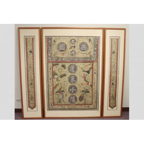 Framed Oriental Tapestry (3 Sections)