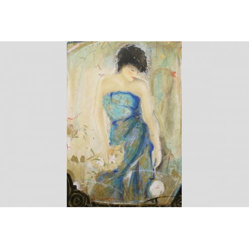 Janet Treby, Signed Serigraph