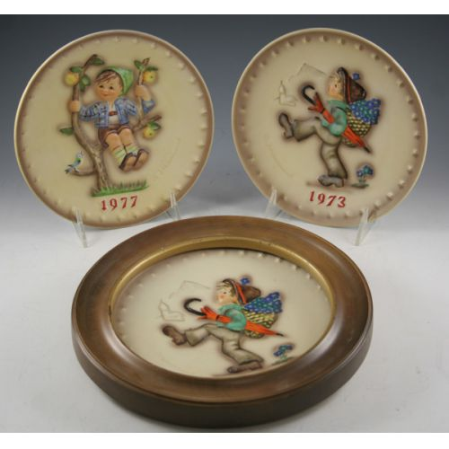 Hummel Annual Collector Plates (3)