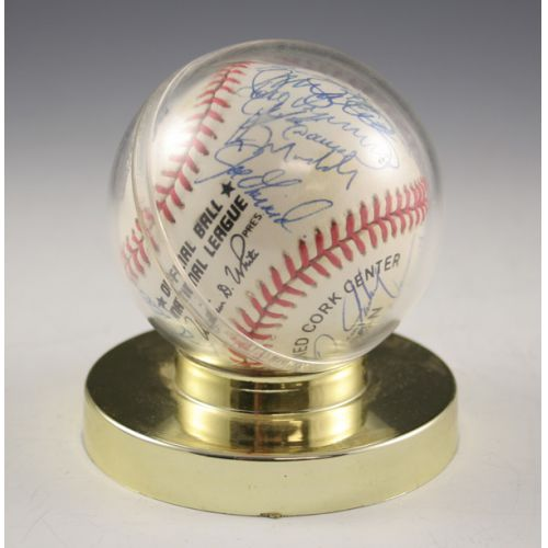 Chicago Cubs Autographed Baseball