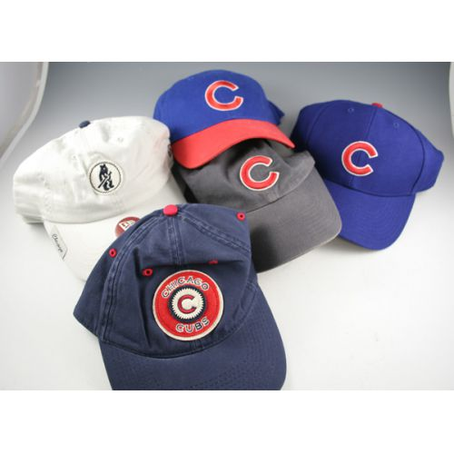 Collection of Chicago Cubs Baseball Hats