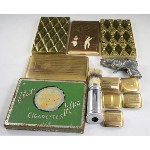Collection of Cigarette Cases & Other Items