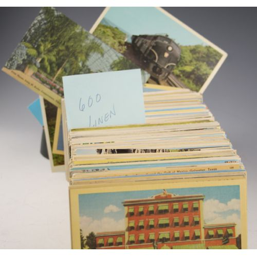 Vintage Linen Postcards