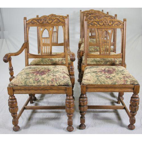 Brickwede Oak Chairs