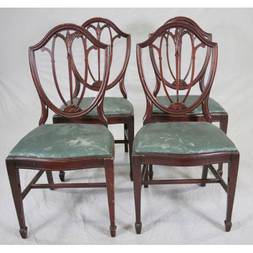 Mahogany Framed Chairs