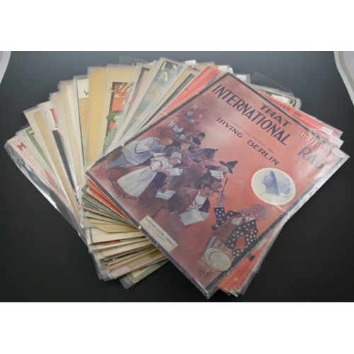 Collection of Vintage Sheet Music (45+)