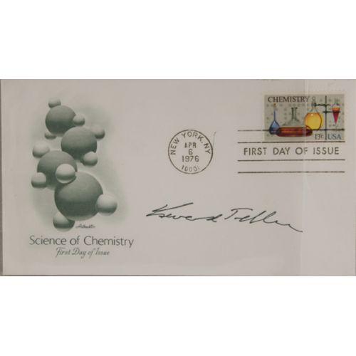 Edward Tiller (Hydrogen Bomb Inventor) Autograph