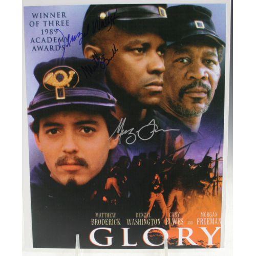 Glory Autographs - Washington, Freeman & Broderick