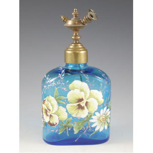 Glass Perfume Bottle (Mosser?)
