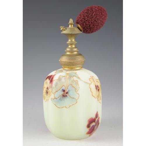 Frosted Glass Perfume Bottle (Mount Washington?)