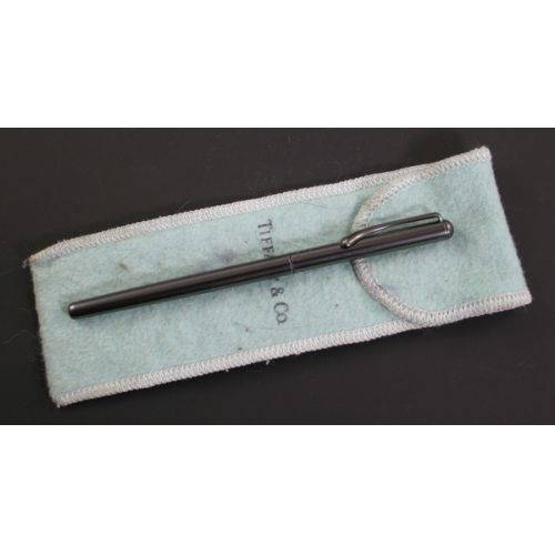 Tiffany & Co. Sterling Fountain Pen