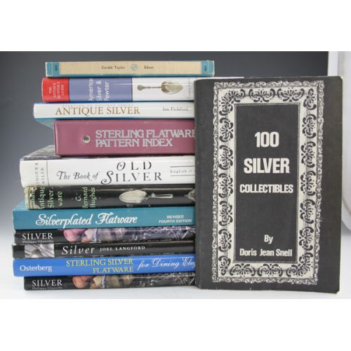 Reference Books on Sterling & Silver Plate (12)