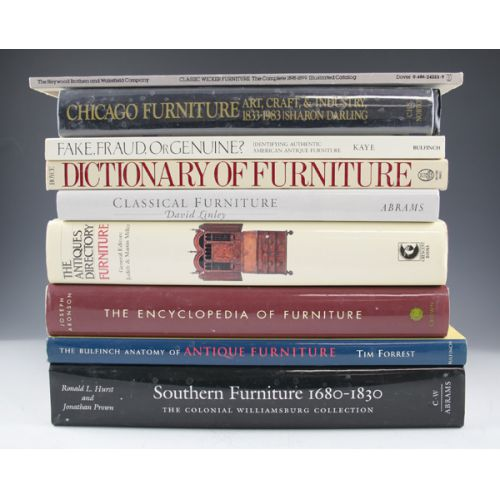 Reference Books on Furniture (9)