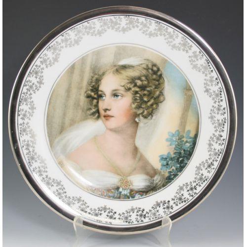 Porcelain Portrait Plate