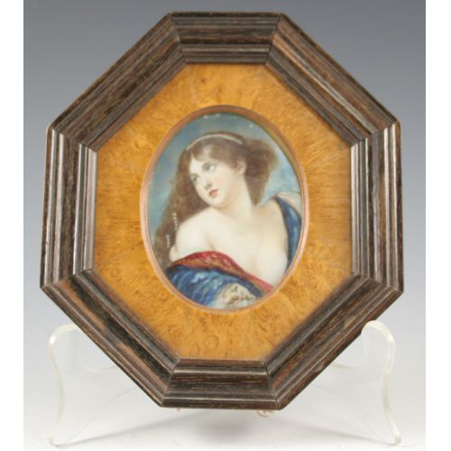 Framed Hand Painted Portrait