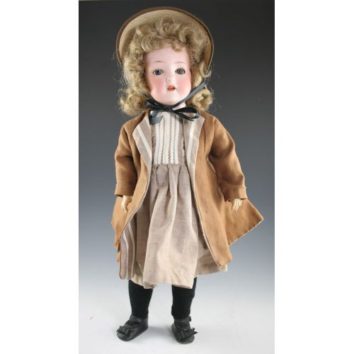 Vintage Germany Doll w Bisque Head & Compo Body