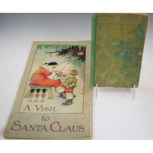 (2) Antique Christmas Books