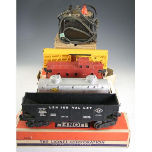 Vintage Lionel Trains In Original Boxes