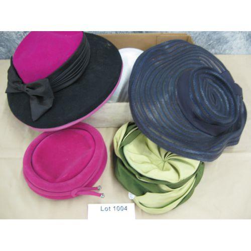(5) Vintage Hats