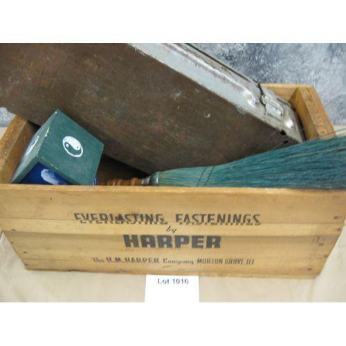 Metal Box, Wooden Box, More