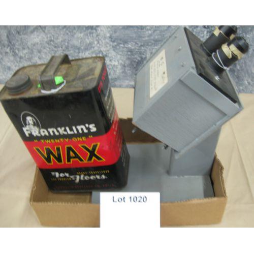 Homemade Microscope & Canned Wax