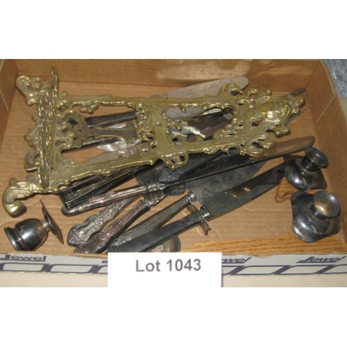 Silver Plate Flatware Pieces
