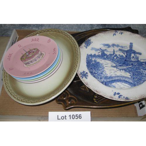 Plates including Delft