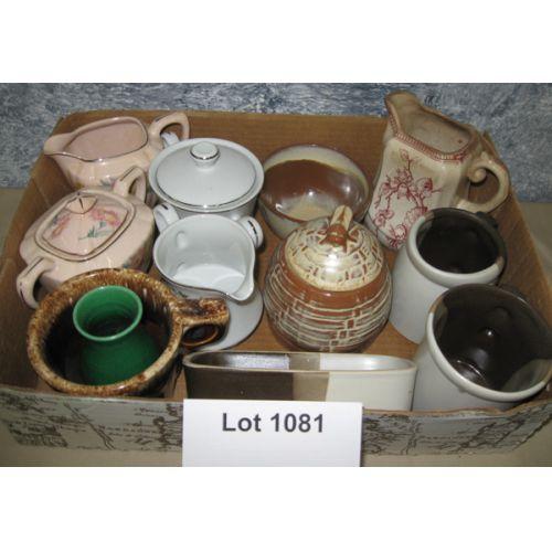 Pottery Items incl Frankoma