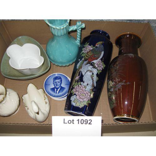 Vases, Bowl & Decorative Items incl Lenox