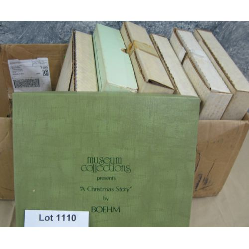 (7) Collector Plates in Original Boxes