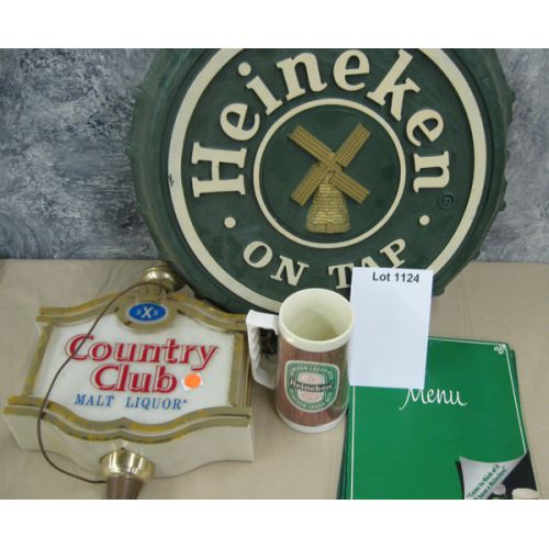 Heineken Sign / Country Club Sign