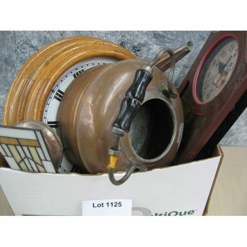 Clocks, Copper Tea Pot