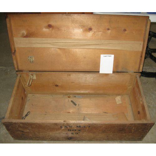 INS MAT Wood Storage Box