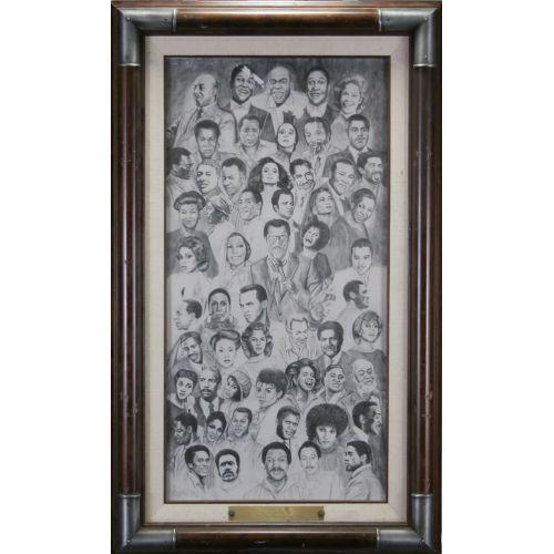 Sammy Davis Jr. Framed Award