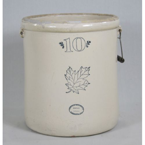 10 Gallon Western Stoneware Crock