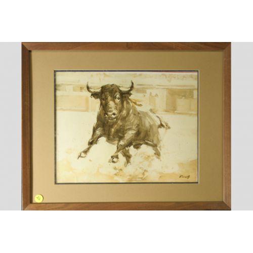 Flores Bullfighter Print