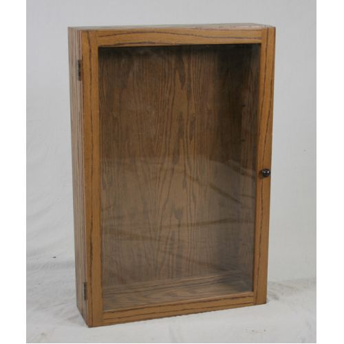 Oak Table Top Display Case