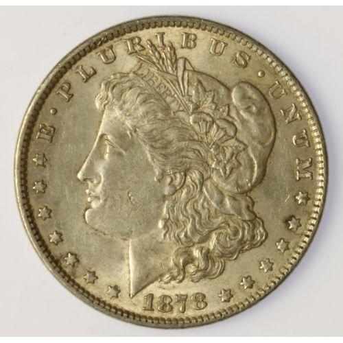1878 Morgan Dollar- Reverse of 1879