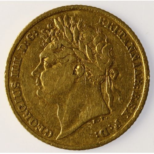 1824 George IV Gold Coin (Britain)