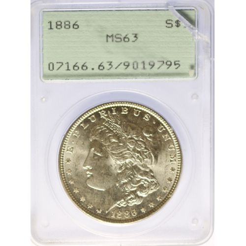 1886 Morgan Dollar MS-63 (PCGS)