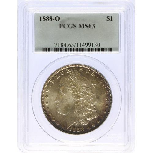 1888-O Morgan Dollar MS-63 (PCGS)